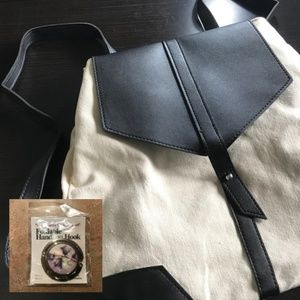 🛍 3/$20 DEUX LUX Demi Backpack + Handbag Hook